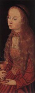 Lucas Cranach The Elder - St . Barbara