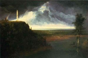 Thomas Cole - Monument de Brock