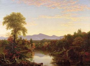 Thomas Cole - Catskill Creek, New York