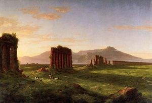 Thomas Cole - campagne romaine