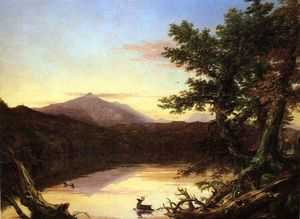 Thomas Cole - Schroon Lac