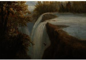 Robert Havell - PATERSON FALLS