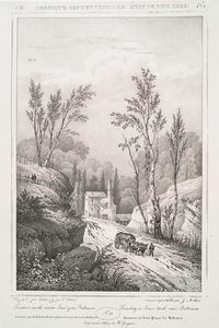William Guy Wall - N ° 52. fonderie sur le ruisseau de Jone près de Baltimore