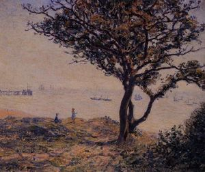 Alfred Sisley - une cardiff lane expédition