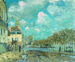 Alfred Sisley - Inondation à Port-Marly 4