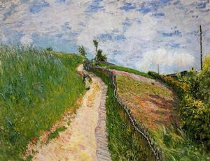 Alfred Sisley - le chemin hill , Ville ré Avray