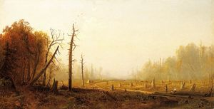 Alfred Thompson Bricher - paysage dautomne