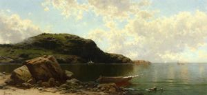 Alfred Thompson Bricher - scène de plage