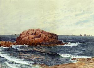 Alfred Thompson Bricher - rocks proche le côte