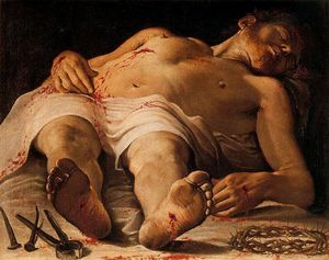 Annibale Carracci - christ mort