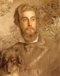 Anthony Frederick Augustus Sandys - Portrait de Cyril Fleur, Lord Battersea