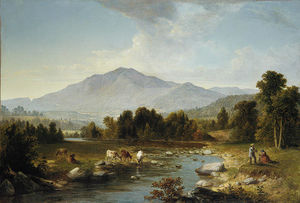 Asher Brown Durand - élevé point . shandaken` montagnes