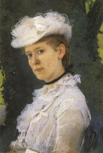 Cecilia Beaux - lady george De darwin