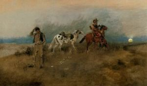 Charles Marion Russell - Un cheval Apiece