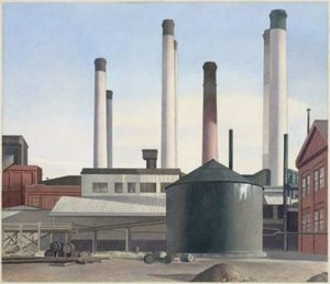 Charles Rettew Sheeler Junior - Fugue
