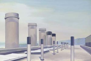 Charles Rettew Sheeler Junior - Stacks dans Procession