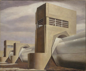 Charles Rettew Sheeler Junior - eau