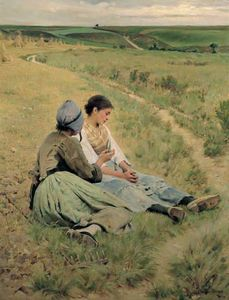 Charles Sprague Pearce - Consultation