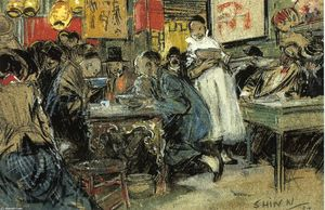 Everett Shinn - chinois restaurant