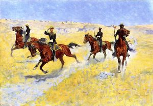 Frederic Remington - L Advance