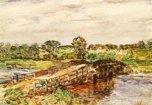 Frederick Childe Hassam - Pont à Old Lyme 1