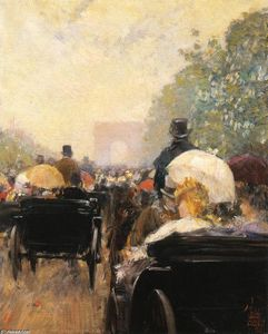 Frederick Childe Hassam - transport parade