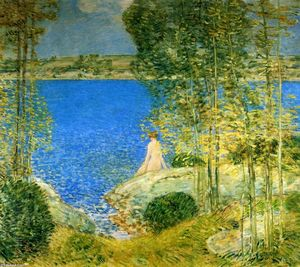Frederick Childe Hassam - le bather