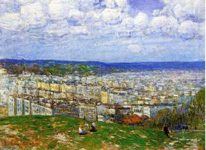 Frederick Childe Hassam - Vue de New York, du haut de Fort George
