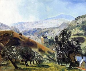 George Wesley Bellows - mont verger