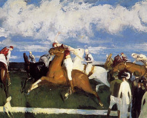 George Wesley Bellows - Polo Jeu