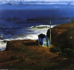 George Wesley Bellows - rivage maison