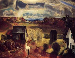 George Wesley Bellows - le blanc cheval