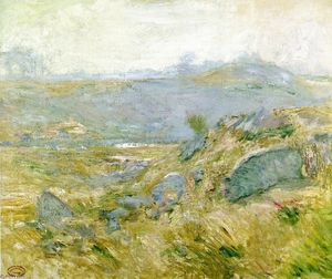John Henry Twachtman - Hauteurs Pâturages