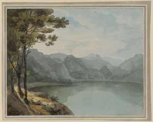 John White Abbott - Borrowdale et Derwentwater, Lake District