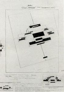 Kazimir Severinovich Malevich - Future Planits Maisons à Owellers Earth People