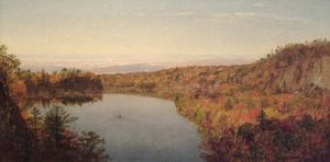 Thomas Worthington Whittredge - Lac Shawangunk