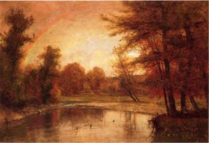Thomas Worthington Whittredge - le arc en ciel