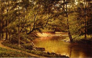 Thomas Worthington Whittredge - Woodland Intérieur