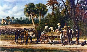 William Aiken Walker - Coton Wagon de vide