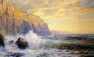 William Trost Richards - Cornish Headlands