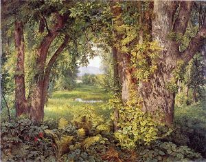 William Trost Richards - Dans les bois