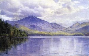 William Trost Richards - Lake Placid, Monts Adirondack