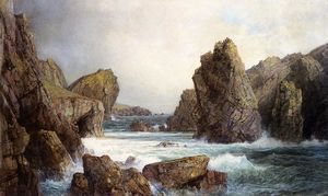 William Trost Richards - Rocky Inlet 1