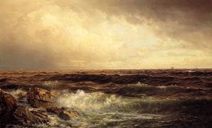 William Trost Richards - paysage marin 5