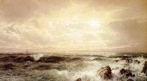 William Trost Richards - paysage marin 6