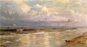 William Trost Richards - paysage marin