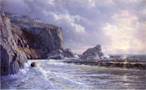William Trost Richards - Puits de St Margaret, Cornwell