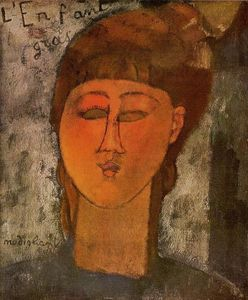 Amedeo Modigliani - L enfant Fat