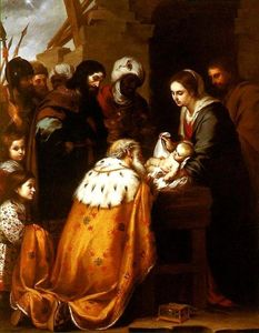Bartolome Esteban Murillo - Adoration des Mages