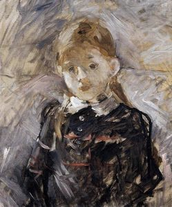 Berthe Morisot - peu fille blonds Cheveux